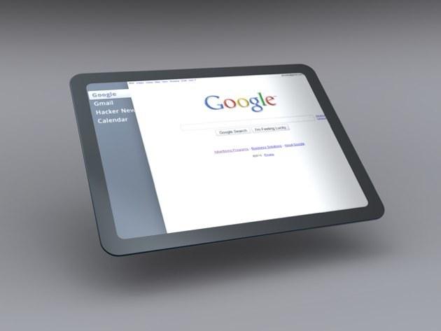 Foto de Mockup del Tablet OS de Google (7/7)
