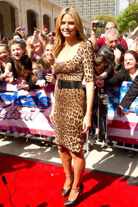 Heidi Klum leopardo