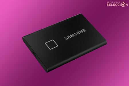 Pon a salvo toda tu vida digital con el SSD portátil de 1 TB con huella dactilar Samsung T7 por 116,99 euros en Amazon, su mínimo