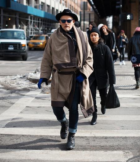 street style sombrero hombre bata