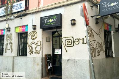 Restaurante Piscomar by Jhosef Arias, un peruano que hay que visitar en Madrid