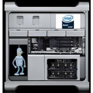 Benchmark al Mac Pro doble Core Quad  con 8 núcleos en total
