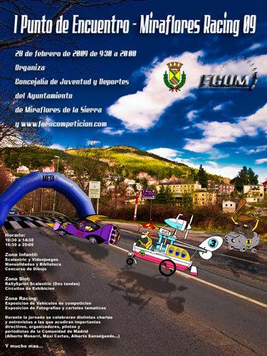 Miraflores Racing 2009. Un punto de encuentro para los aficionados a la competición