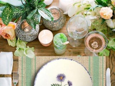¿Conoces las deliciosas vajillas decoradas a mano por Andrea Zarraluqui?