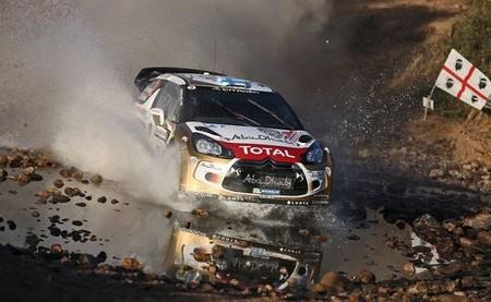Rally de Cerdeña 2013: hundimiento de Citroën, Latvala en podio