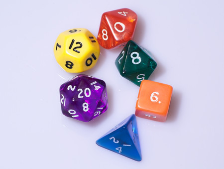 Dice Typical Role Playing Game Dice