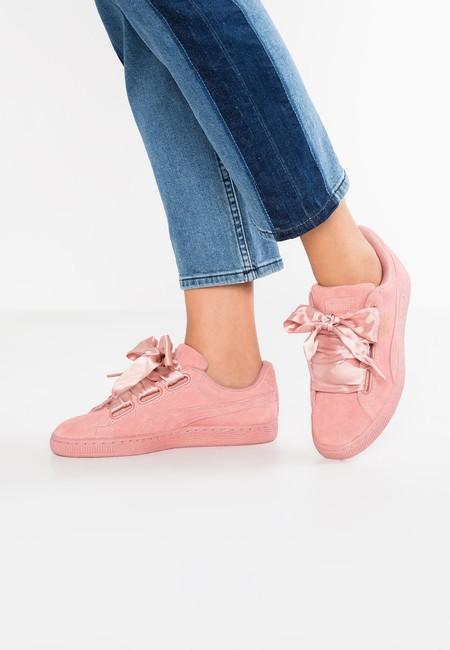 Las zapatillas Puma Suede Heart Satin II rebajadas un 50% en Zalando, ahora por sólo 49,95 euros