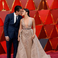 Oscars 2018: las parejas derrochan amor en la alfombra roja