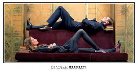 La irónica campaña publicitaria de la firma Fratelli Rossetti para este invierno
