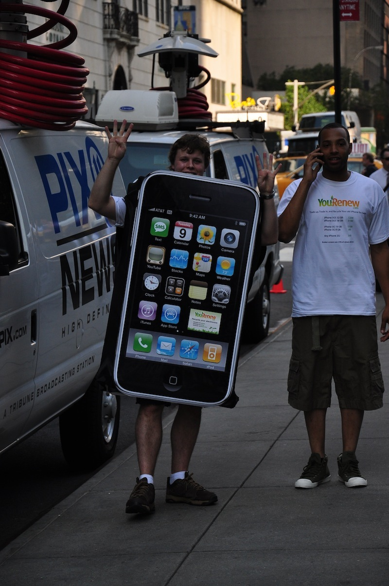 Foto de Lanzamiento iPhone 4 en Nueva York (22/45)