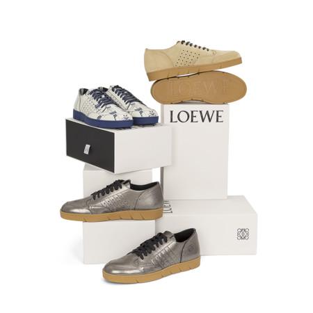 Zapatillas de lujo: las sneakers de Loewe se vuelven modernas