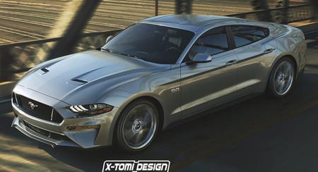 Un domingo para imaginar: ¿Y si el Mustang tuviera una versión sedán?