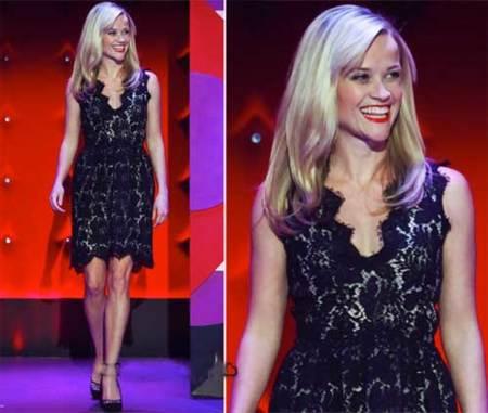 Reese Whiterspoon en el Show de Jonathan Ross