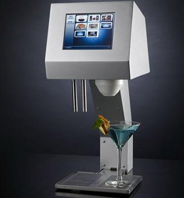 MyFountain, un camarero semi robótico