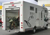 Autocaravana con garaje: con la moto y la casa a cuestas