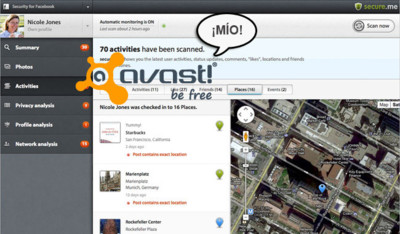 Avast compra la herramienta de seguridad online Secure.me