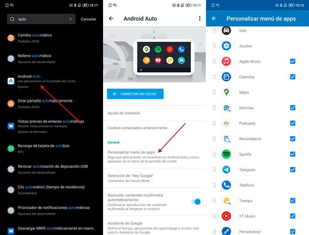 Android Auto Apps Compatibles