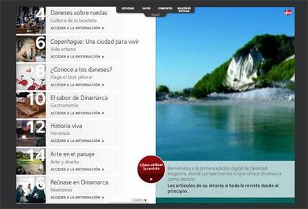 Dinamarca publica una revista digital de viajes