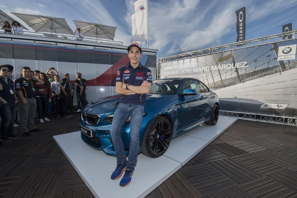 Marc Marquez BMW M2