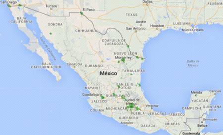 Red 4G LTE de Movistar en México