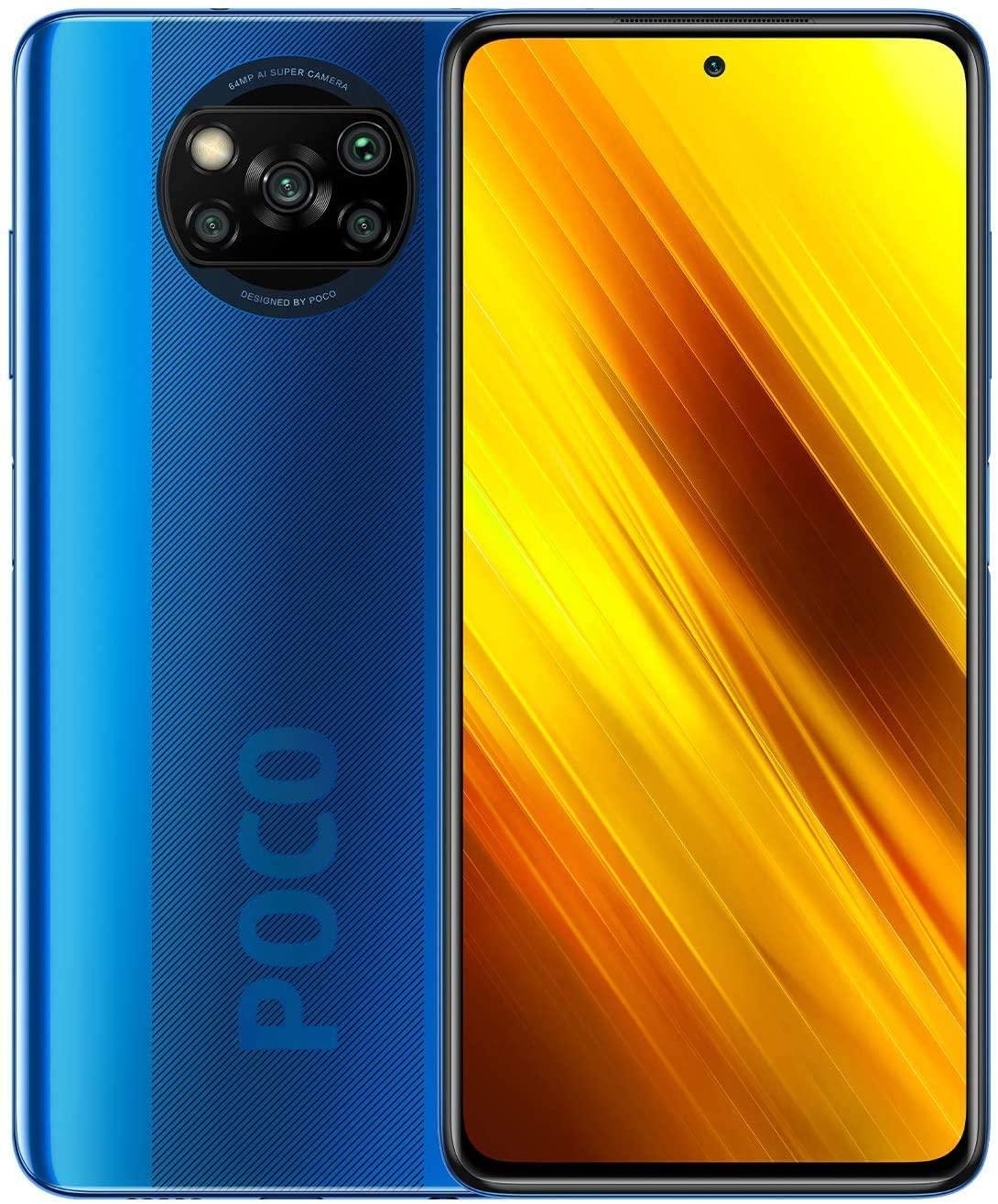 Xiaomi POCO X3 128GB / 6GB en RAM - Azul