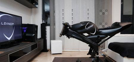 LeanGP: el simulador de motos para sentirte como un piloto de MotoGP sin salir de casa