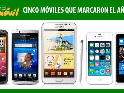 Cinco móviles que marcaron el año 2011