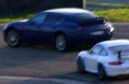 ¿Tan grande es el Porsche Panamera?