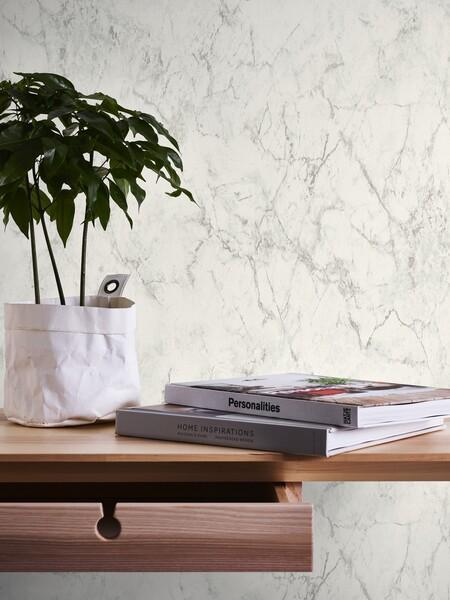 Papel pintado Leroy Merlin efect mármol