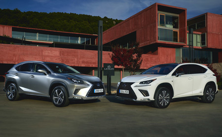 Lexus NX 300h y CT 200h 2018