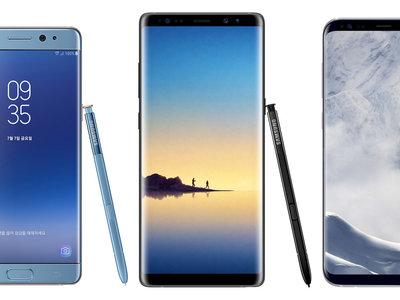 Samsung lidera la venta de smartphones en España en octubre con su dato más bajo del año, según IO