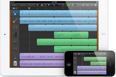 GarageBand se puede usar ya en iPhone y en iPod Touch