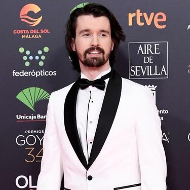 Santiago Alverú apuesta por monocromátio look para los Premios Goya 2020