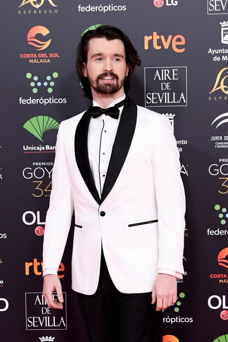 Santiago Alverú apuesta por monocromático look para los Premios Goya 2020
