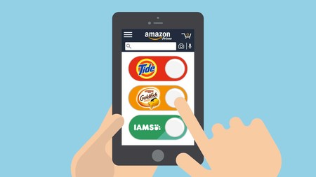 Dash Buttons Virtual