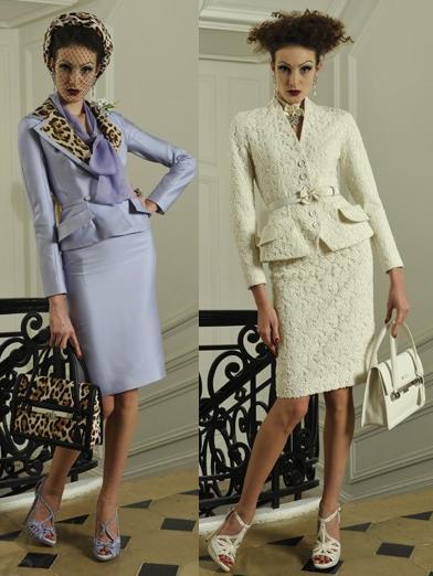 ¿Glamour con mayúsculas?: Colección Dior Crucero 2010