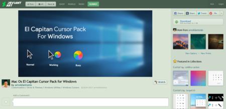 Mac Os El Capitan Cursor Pack For Windows By Arnoldantonio On Deviantart