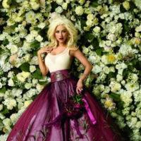 Christina Aguilera celebra el aniversario de Macy's