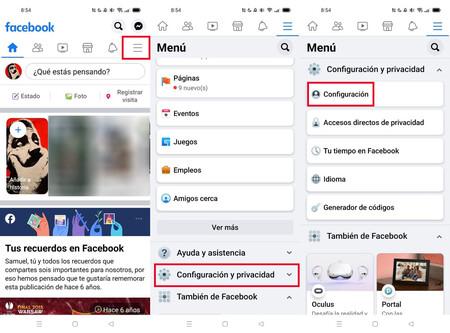 Cómo borrar Facebook desde el móvil