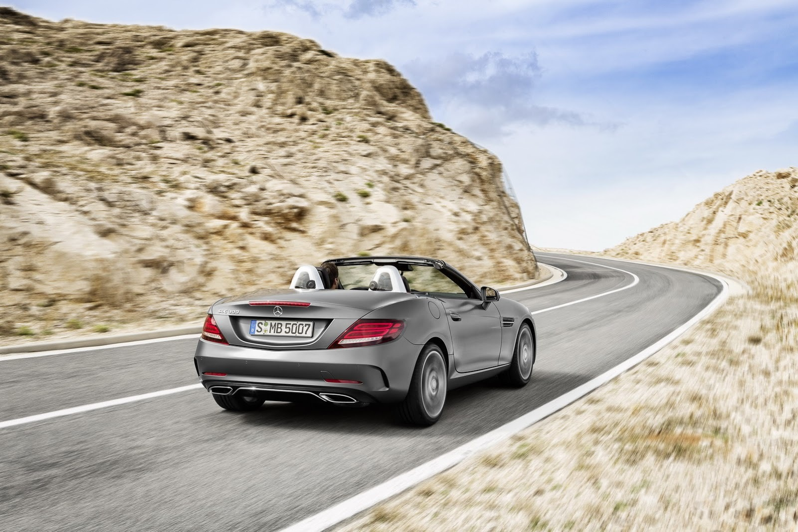 Foto de Mercedes-Benz SLC 2017 (8/17)