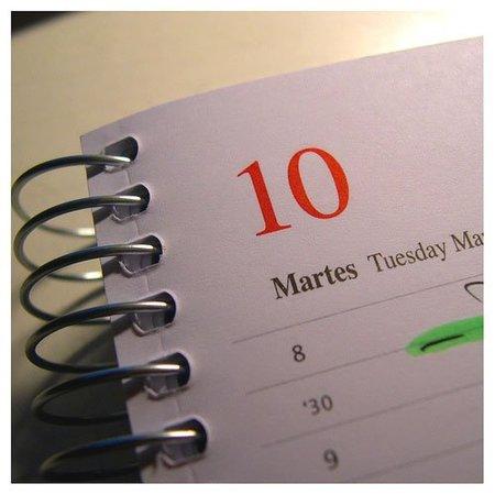 agenda de rutina cosmetica semanal