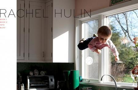 Fotografías del bebé volador