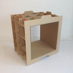 Foto 2 de 4 de la galería estanterias-ligeras-de-carton en Decoesfera