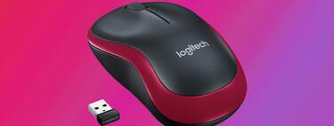 Trabaja con el portátil en cualquier parte con el ratón inalámbrico súper compacto Logitech M185 por 7,97 euros en Amazon