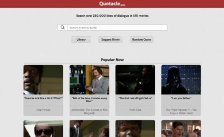 Quotacle, una base de datos con GIFs de las mejores escenas cinematográficas