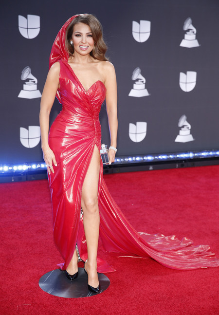 Thalia grammys latinos 2019 red carpet