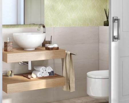 Lavabo e inodoro son los elementos del baño que han sufrido un giro de  ciento ochenta grados en los últimos años. Los lavabos con muebles  suspendidos 5ee6c87daf3
