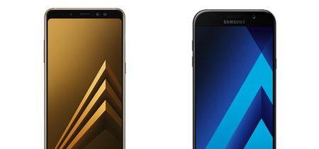 Del Galaxy A7 al Galaxy A8: esto es todo lo que ha cambiado