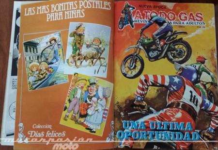 Especial comics y motos: A Todo Gas de Editorial Epesa