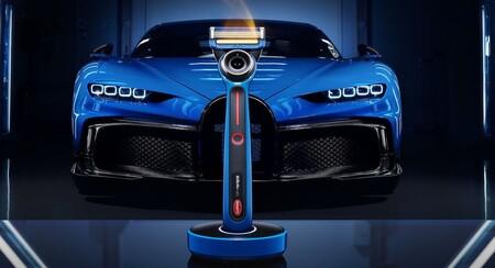 ¡Adiós barba! Bugatti y Gillette presentan una rasuradora inspirada en el Chiron Pur Sport